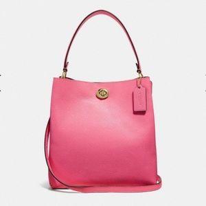 Coach Bucket Bag - NEW - confetti pink